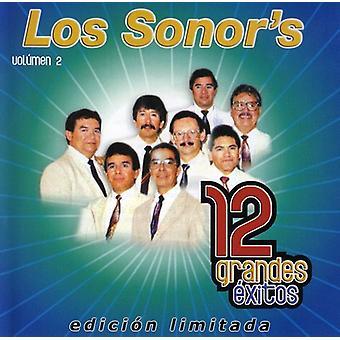 Los Sonor's - Los Sonor's: Vol. 2-12 Grandes Exitos [CD] USA import