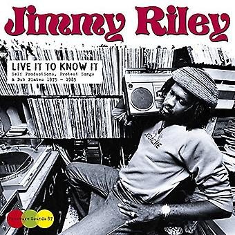 Jimmy Riley - Live It to Know It [CD] USA import