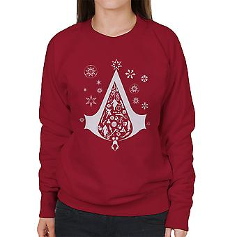 Kerstboom Assassins Creed vrouwen Sweatshirt