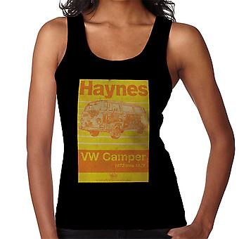 Haynes Workshop Manual Volkswagen Camper 1972 Stripe Women's Vest