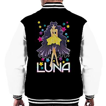 Luna Human Sailor Moon Men's Varsity Jacket