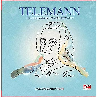 Telemann - Huilu Sonaatti F-duuri Twv 41:F2 [CD] USA tuonti