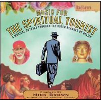 Mick Brown - Music for the Spiritual Touris [CD] USA import