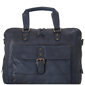 Ashwood Spitalfields middels skinn Vintage to delen Laptop Bag