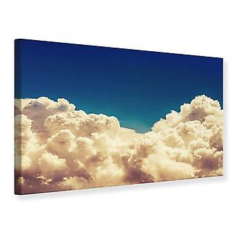 Canvas tulostaa Sky pilvet