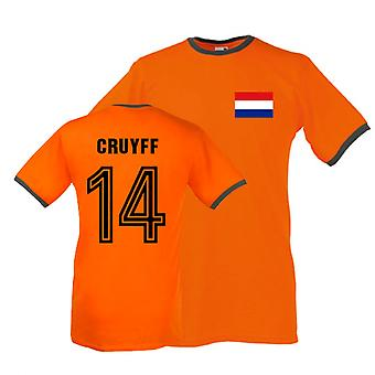 Johan Cruijff Holland dzwonka Tee (pomarańczowy)