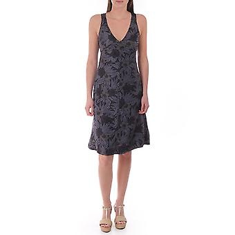 Diesel Ykanu Floral Mid Length Dress With Cut Out Back