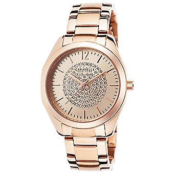 Caravelle New York Women's 44L160 Analog Display Analog Quartz Rose Gold Watch