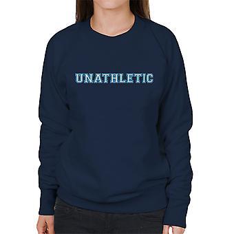 Unathletic Sports Style Shirt Women's Sweatshirt