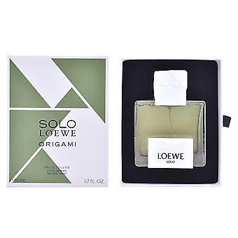 Loewe Solo Loewe Origami Edt Spray 50 Ml til mænd