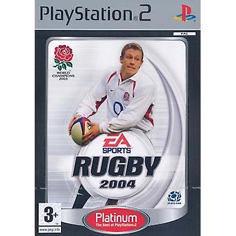 Rugby 2004 Platinum (PS2)-fabriken förseglad
