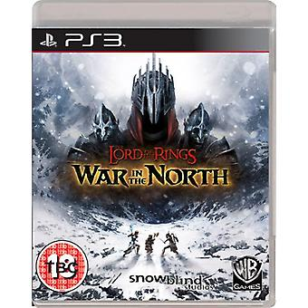 Lord of the Rings oorlog in het noorden (PS3)-nieuw