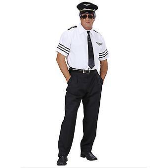 Pilote (chemise cravate chapeau)