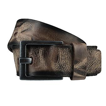 BERND GÖTZ belts men's belts leather belt Brown 3723