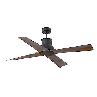 Ventilador de techo DC Winche Outdoor Black con mando a distancia
