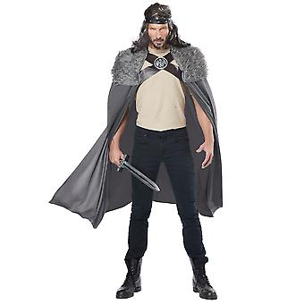 Dragon Master Viking middeleeuwse Warrior Renaissance Norman Mens kostuum Cape