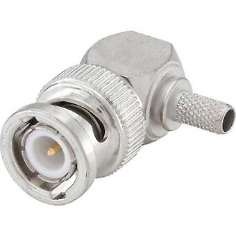 Rosenberger 51S207-308N5 BNC connector Plug, right angle 50 Ω 1 pc(s)
