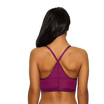 Sport Lux cassis violette Racerback armatures Bralet palangre soutien-gorge en dentelle Gossard 14508 féminine