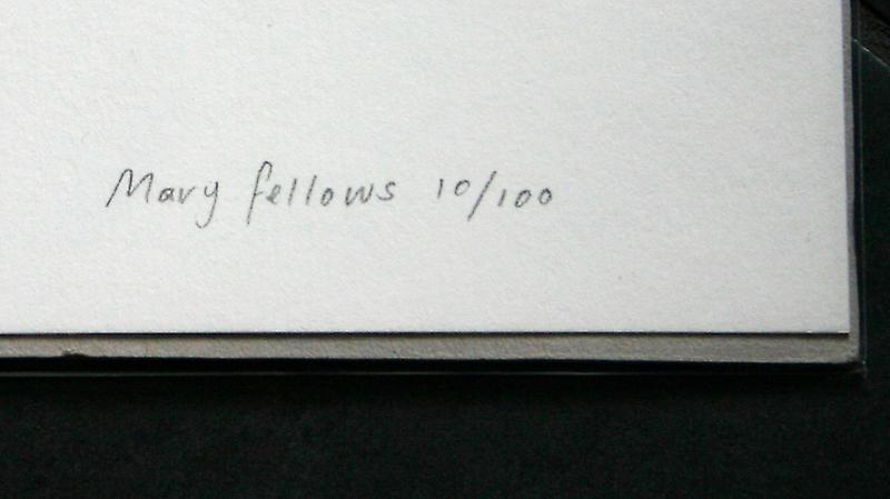 Embrasser Arbre édition limitée écran par Mary Fellows