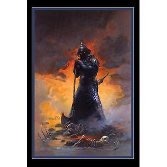 Death Dealer Three - door Frank Frazetta Poster afdrukken