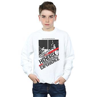 Jimi Hendrix Boys Concert Flyer Sweatshirt