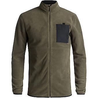 Quiksilver Mens manteiga quente Zip completo técnico velo jaqueta