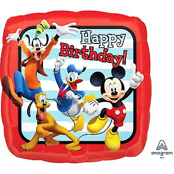 Anagramm 18In Mickey und Freunde Happy Birthday Folien Ballon