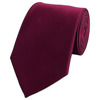 Tie slips tie slips 8cm Röd uni röd mörk röd Fabio Farini