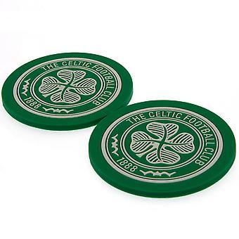 Celtic FC-och dalbana tågset (förpackning med 2)
