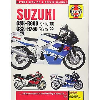 Suzuki GSX-R600 & moto 750 manuels de reparation