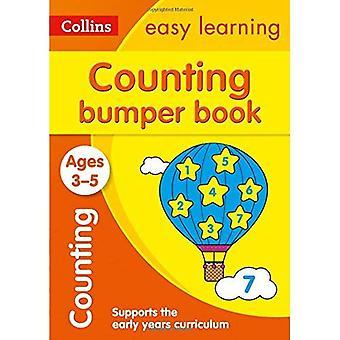 Laskeminen ja puskurin ikä 3-5 (Collins helppo oppiminen esikoulu) (Collins helppo oppiminen esikoulu)