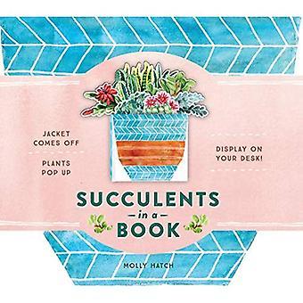 Plantes succulentes dans un livre (un Bouquet dans un livre)
