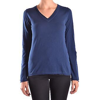 Peuterey Ezbc017012 Women's Blue Cotton Blouse