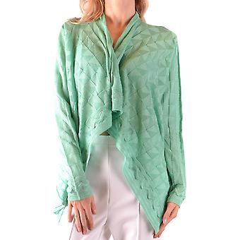 Missoni Ezbc091003 Women's Green Wool Cardigan