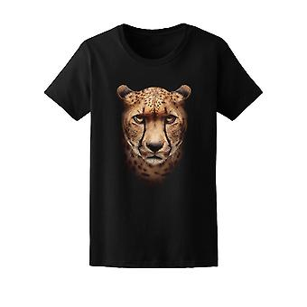Amazing Cheetah Face Tee Men's -Image by Shutterstock