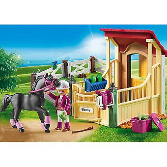 Playmobil 6934 Country Horse Stable com Arabian