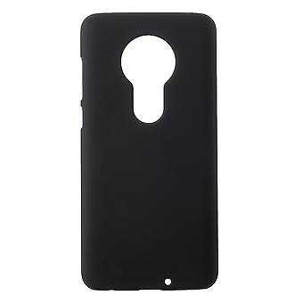 Motorola Moto G7 Plus / G7 Shell Plastikowa powłoka Gumowana - Czarna
