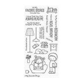 My Favorite Things Our Story Clear Stamps (BB-41)