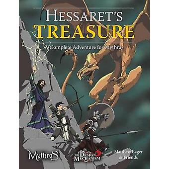 Hessaret's Treasure - A Complete Adventure for Mythras - 9781911471028