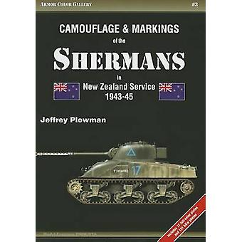 Camouflage & Markings of the Shermans in New Zealand Service 1943-45