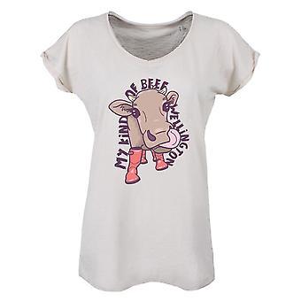 Grindstore Ladies/Womens My Kind Of Beef Wellington Vintage T-Shirt