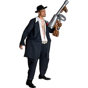 ג ' וני גומבה שומן גנגסטר 20 של מצחיק גברים תלבושות