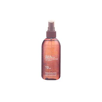 Piz Buin Tan & protéger Oil Spray Spf15 150 Ml unisexe
