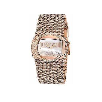 Just Cavalli Ladies Rose Gold Rich Watch R7253277002
