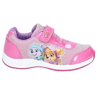 Leomil Girls Paw Patrol Athletic Touch Fastening Trainer