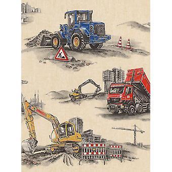 Construction Wallpaper Rasch 293500