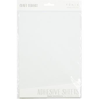 Craft Perfect by Tonic Studios A4 Double Sided Adhesive Sheets 5 Pack