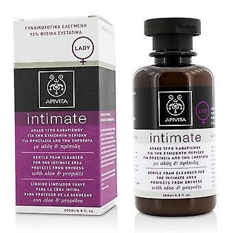 Intimate Gentle Foam Cleanser For The Intimate Area Protects From Dryness With Aloe & Propolis - 200ml/6.8oz