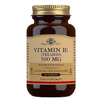 Solgar Vitamin B1 500mg Tablets 100 (2980)