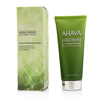 Ahava Mineral Radiance Instant Detox Mud Mask 100ml/3.4oz